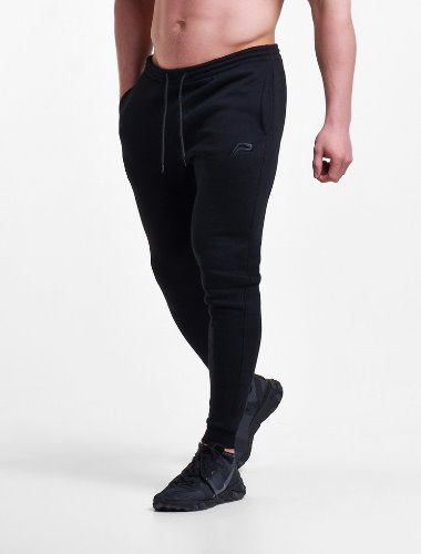 Icon Tapered Joggers V2 - Black