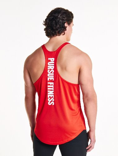 ESSENTIAL BREATHEASY™ STRINGER VEST - Red