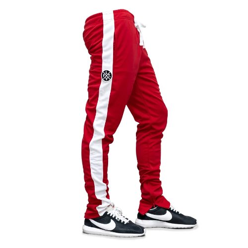 LVFT. Slim Trackies - Red