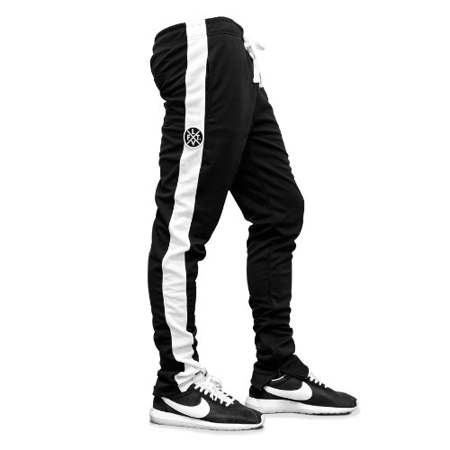 LVFT. Slim Trackies - Black