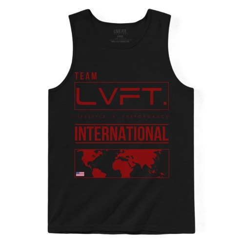International Tank - Black/Red