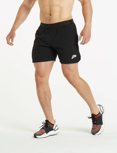 PERFORMANCE MID-RISE SHORTS - BLACK