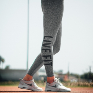 Live Fit. Women`s Sports Thights - Grey