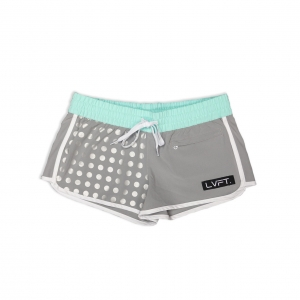 Reflective Running Shorts - Teal