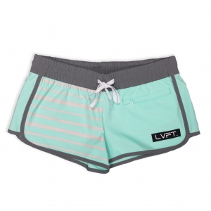 Pipeline Running Shorts - Teal