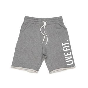 French Terry Live Fit shorts - Heather grey