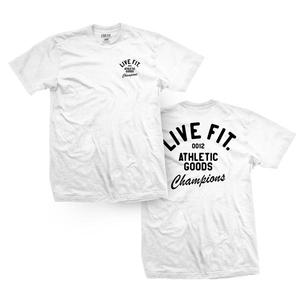 Athletic Good Tee - White