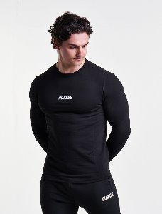 ESSENTIAL LONG SLEEVE - Black