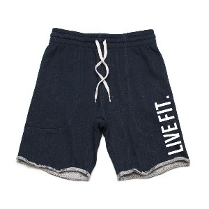French Terry Live Fit shorts - Navy