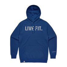 Classic Live Fit Hoodie - Blue