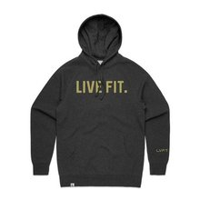 Classic Live Fit Hoodie - Charcoal